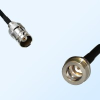 BNC Female - QN Male Coaxial Cable Assemblies