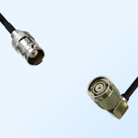 BNC Female - RP TNC Male Right Angle Coaxial Cable Assemblies