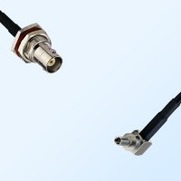 BNC Bulkhead Female with O-Ring - CRC9 Male R/A Cable Assemblies
