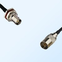 BNC Bulkhead Female with O-Ring - DVB-T TV Female Cable Assemblies