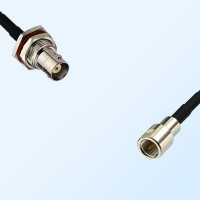 BNC Bulkhead Female with O-Ring - FME Male Coaxial Cable Assemblies
