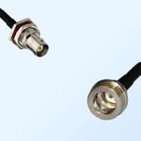 BNC Bulkhead Female with O-Ring - QN Male Coaxial Cable Assemblies