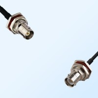 BNC Bulkhead Female - RP BNC Bulkhead Female Cable Assemblies