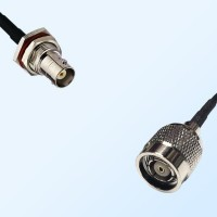 BNC Bulkhead Female with O-Ring - RP TNC Male Coaxial Cable Assemblies