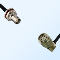 BNC Bulkhead Female with O-Ring - RP TNC Male R/A Cable Assemblies