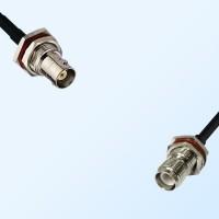 BNC Bulkhead Female - RP TNC O-Ring Bulkhead Female Cable Assemblies