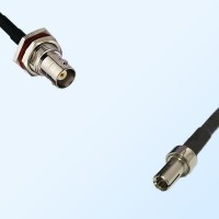 BNC Bulkhead Female with O-Ring - TS9 Male Coaxial Cable Assemblies