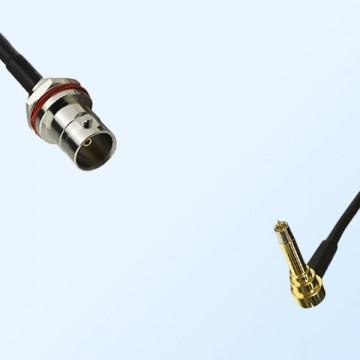 BNC Front Mount Bulkhead Female - MS156 Male R/A Cable Assemblies